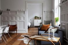A Bright, Airy Flat in Sweden : Remodelista