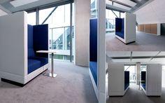 Palau Bricks @ Danemark :-) 'Palau sofaer med høje rygge, perfekt til åbne læringsmiljøer'