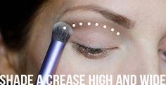 Tricks for making your eyes look huge!