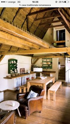 Home Interior Design, Interior Architecture, Wood House Design, A Frame Cabin, Design Case, Home Fashion, House In The Woods, Traditional House, Home Crafts