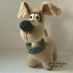 Dog BigNose ToyMagic. Dog Crochet Pattern PDF Instant