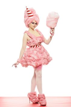 Cotton Candy Couture Costume