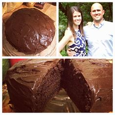 Homemade Portillos Chocolate Cake