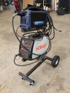 Welding cart Just need to figure out the management of power cords and torchs
