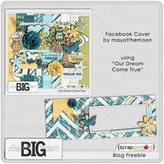 Scrapbooking TammyTags -- TT - Designer - Dream Big Designs,  TT - Item - Facebook Timeline Cover