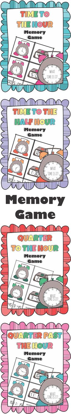 https://www.teacherspayteachers.com/Product/Telling-Time-to-the-Hour-Half-Quarter-to-and-Quarter-past-the-Hour-Memory-Game-2953443