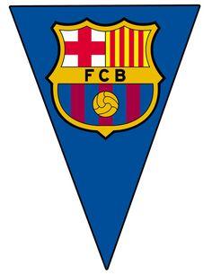 FC Barcelona bandera bricolaje Barcelona para por SportfunDigital Barcelona Soccer Party, Barcelona Cake, Fcb Barcelona, Diy Birthday Banner, Football Birthday, Soccer Theme, Sports Party, Fiesta Party, Tomy