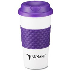 111150 | Color Banded Classic Coffee Cup - 16 oz. (Item No. 111150) from only $2.15 ready to be imprinted by 4imprint Promotional Products