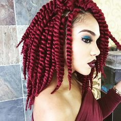 Love this Look! I used 8packs of Havana twist 12inch! From @beauty_depot Makeup @makeupcraze Salon @hairstyles_mspinckney Modeled by @nyabryanna