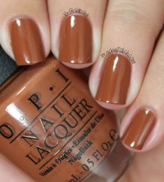 Color For Nails, Opi Nail Colors, Toe Nail Color, Tan Nails, Brown Nails, Hair And Nails, Neutral Nails, Opi Nail Polish, Nail Manicure