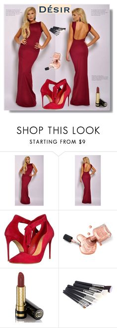 """""""DesirVale 17"""" by nedim-848 ❤ liked on Polyvore featuring Schutz and Gucci"""