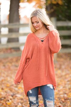 The Pink Lily - Back In Your Heart Sweater Tunic Rust , $38.00 (https://pinklily.com/back-in-your-heart-sweater-tunic-rust/)