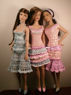 crochet for Tonner dolls ♡