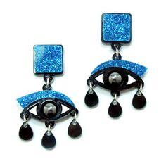 Eyes Earrings by Jennifer Loiselle