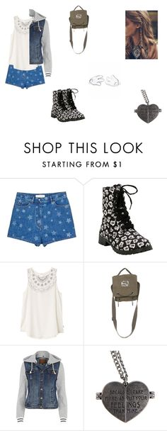 """Brie Tate"" by leah-holly-walker ❤ liked on Polyvore featuring Valentino, Disney, RVCA and River Island"