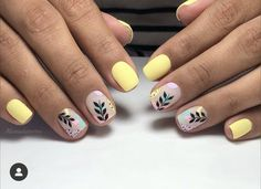 Great Nails, Cute Nail Art, Cute Nails, My Nails, Happy Nails, Nail Polish Trends, Easter Nails, Nail Decorations, Nail Spa
