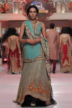 2015 Telenor Bridal Couture Week HSY Collection Photo Gallery