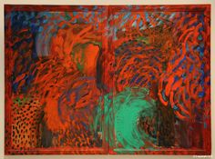 Howard Hodgkin- When Did We Go to Morocco? 1988 - 1993 77 x x Oil on wood Abstract Painters, Abstract Art, Howard Hodgkin, Inspirational Artwork, Inspiring Art, Sculpture, Contemporary Paintings, Art Techniques, Abstract Expressionism
