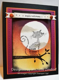Ghostly Cat - MZ by Zindorf - Cards and Paper Crafts at Splitcoaststampers