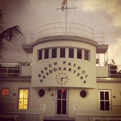 South Beach - a old landmark you pass cruising Ocean Drive