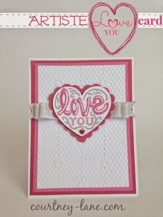 Courtney Lane Designs: 72 Close To My Heart #Artiste Projects - yes, there are 72 items created with the #Artiste cartridge on this blog post