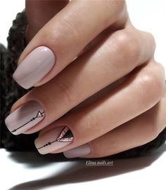 Nail art Christmas - the festive spirit on the nails. Over 70 creative ideas and tutorials - My Nails Latest Nail Designs, Short Nail Designs, Square Nail Designs, Latest Nail Art, Pretty Nail Designs, Simple Nail Designs, Cute Acrylic Nails, Acrylic Nail Designs, Glitter Pedicure Designs