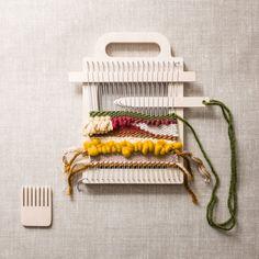 Mini Weaving Loom Kit by HandmakersFactory on Etsy