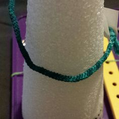 """Striped 6"""" bracelet This is a green, Striped 6"""" bracelet. This is free with purchase or trade or on sale for $3 Handmade Bracelet by Laurie Jewelry Bracelets"""