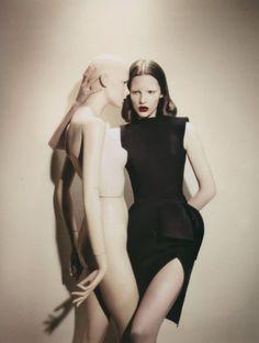 Sara Blomqvist in Balenciaga by Sofia Sanchez & Mauro Mongiello for Numero magazine Tokyo August 2008 #editorial