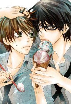 Yaoi Forever and Ever Manga Love, Anime Love, Anime Guys, Manga Anime, Belive In, Yuri, Ex Amor, Boyxboy, Shounen Ai