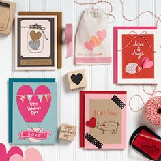 My Sweet Valentine Crafter's Night Out - Paper Source workshops