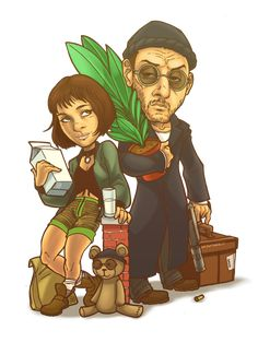 LEON - THE PROFESSIONAL by SAYOMADEIT.deviantart.com on @deviantART