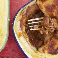 Try this Scrumptious Steak & Stout Pie recipe by Chef Jamie Oliver. This recipe is from the show Jamie & Jimmy's Food Fight Club. Lamb Recipes, Pie Recipes, Chef Jamie Oliver, Jamie Oliver Steak Pie, Steak And Stout Pie, Steak Pie Recipe, Beef Pies, Butter Tarts