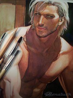 Master's portrait by aenaluck.deviantart.com on @DeviantArt
