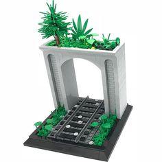 New train tunnel moc review on YouTube go check it out! #lionfam#lego#legos#legomoc#legomocs#moc#mocs#custom#legocustom#legostagram#legoinstagram#tunnel#traintunnel#legotrain#legotraintunnel#legotunnel