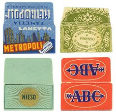 Letterology: Some Sharp Wrappers