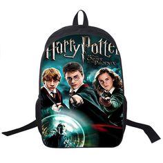 Harry Potter Backpack For Teenagers Girls Boys HP Children School Bags Avada Kedavra School Backpacks Kids Bag Mochila Escolar