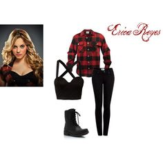 """""""Teen Wolf-Erica Reyes"""" by kristynk on Polyvore"""