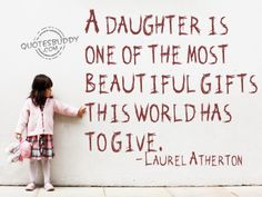 A daughter..