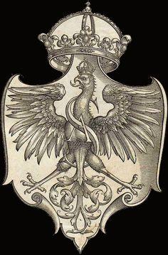 Polski Orzeł Biały z XVI Behance