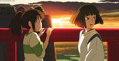 Studio Ghibli : Spirited Away : Chihiro : Haku : Hayao Miyazaki
