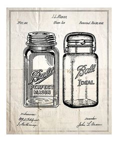 Another great find on #zulily! Glass Jar Art Print by Oliver Gal #zulilyfinds