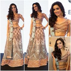 Shraddha Kapoor, Bollywood actress, Shraddha Kapoor makeup, shraddha kapoor pictures,shraddha kapoor wallpapers, bollywood celebrity, Shraddha Kapoor in Indian outfit, Indian outfits of bollywood celebrities