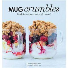 Mug Crumbles Recipe Book great idea for mum for Christmas https://www.everythingbutflowers.com.au/christmas/women/mug-crumbles