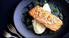 Macadamia Coconut Salmon'Quick and Simple with a Nice Punch of Protein'