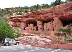 Indian Cliff Dwellings in Colo. Springs, CO  First went there summer 2011, but have a feeling I was there but with my parents earlier but just not able to see:)