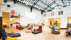 design loungesessel öffentliche bereiche neue arbeitsumgebung Patricia Urquiola für Coalesse