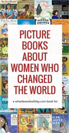 Best Picture Book Biographies about Women Trailblazers A list of the best biography books for kids about women in history, including biographies about scientists, athletes, artists, activists and more. Good Books, Books To Read, Ya Books, Best Biographies, Social Studies Notebook, Biography Books, American History Lessons, Preschool Books, Chapter Books