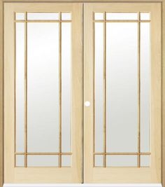 Jeld Wen 24 In X 80 In Woodgrain 2 Panel Archtop V Groove Solid Core Finished Knotty Pine