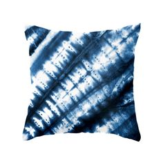 The Blue Slanted Tie-Dye Pillow delivers natural charm and character. A bold blue hue adds brilliance to a white bedding ensemble or armchair and the ripple effect is a lovely subtle nautical hint that...  Find the Blue Slanted Tie-Dye Pillow, as seen in the The Bohemian Minimalist Collection at http://dotandbo.com/collections/the-bohemian-minimalist?utm_source=pinterest&utm_medium=organic&db_sku=105747